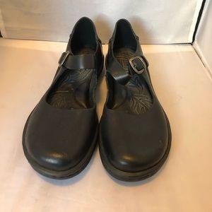 Born Mary Jane shoes black leather 7.5